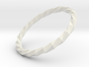 Twistium - Bracelet P=220mm in White Natural Versatile Plastic