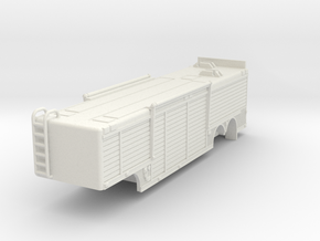 1/87 USAR or HAZMAT Trailer in White Strong & Flexible