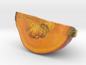 The Pumpkin-2-Quarter-mini in Glossy Full Color Sandstone