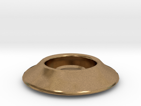 "1/4"" Riser Washer in Natural Brass"