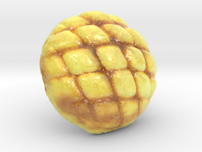 The Melon Bread-2-mini in Glossy Full Color Sandstone