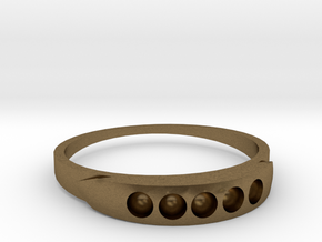 ring 1 in Natural Bronze