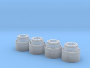 Unimog U430 2-Wege-Reifenfelge in Smooth Fine Detail Plastic