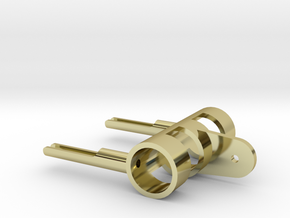 DShKM-2BU 1-35 Barrel Holder in 18k Gold