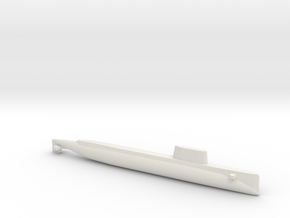 USS Triton (1962), Full Hull, 1/2400 in White Strong & Flexible