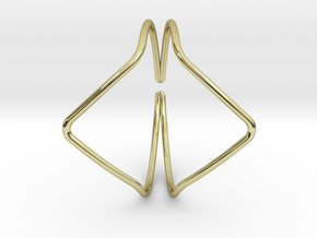 Youniversal YY Bracelet 65mm C-profile in 18k Gold Plated