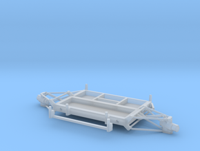 05C-LRV - Forward Platform Turning Right in Smooth Fine Detail Plastic