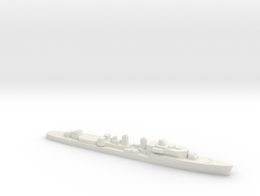 T47 Class Command Destroyer (1962), 1/1800 in White Natural Versatile Plastic