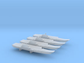 PLA[N] Liaoning (16) x 4, 1/6000  in Smooth Fine Detail Plastic