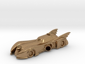 Batmobile N Scale in Natural Brass