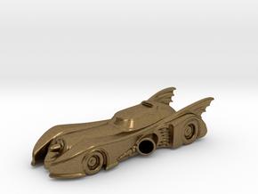 Batmobile N Scale in Natural Bronze