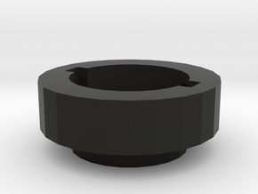 AUG Hop Up Locking Ring in Black Natural Versatile Plastic