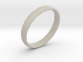 Twistium - Bracelet P=190mm h15 in Natural Sandstone