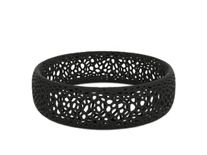 Bracelet in Black Natural Versatile Plastic