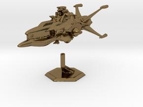 Star Sailers - Vulcarian - Patrol Cruiser  in Polished Bronze