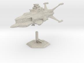 Star Sailers - Vulcarian - Patrol Cruiser  in Natural Sandstone