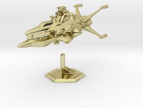 Star Sailers - Vulcarian - Patrol Cruiser  in 18K Gold Plated