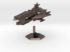 Star Sailers - Venygar - Cruiser in Polished Bronzed Silver Steel