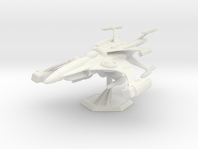 Star Sailers - SuperChase Fighter Upgrade in White Natural Versatile Plastic