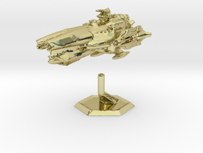 Star Sailers - Fallisorion - Heavy Cruiser  in 18K Gold Plated