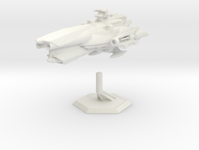Star Sailers - Fallisorion - Heavy Cruiser  in White Strong & Flexible