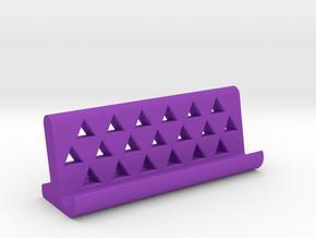universal smartphone dock  in Purple Strong & Flexible Polished
