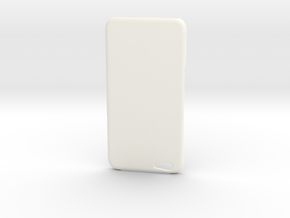 iPhone 6 / 6S Plus simple type case in White Processed Versatile Plastic