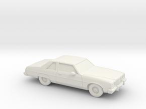 1/87 1977 Pontiac Bonneville Coupe in White Natural Versatile Plastic