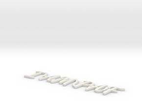 Model-7a868f3ff7e8f8d335b60587bba74dd1 in White Strong & Flexible