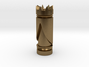 CHESS ITEM RAINHA / QUEEN in Natural Bronze