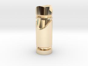 CHESS ITEM BISPO / BISHOP in 14k Gold Plated Brass