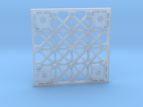 Sulaco Floor Tile 1/32 scale in Smoothest Fine Detail Plastic