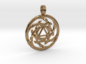 ECLIPSED EMOTION in Natural Brass