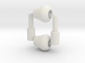 Buegelrolle Set in White Strong & Flexible