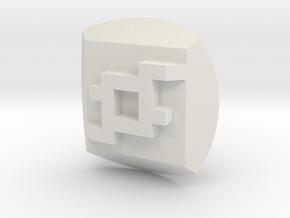 Onua Nuva Symbol in White Natural Versatile Plastic