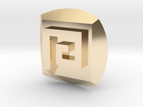 Gali Nuva Symbol in 14K Yellow Gold
