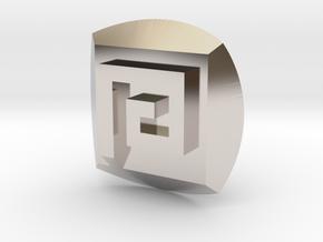 Gali Nuva Symbol in Platinum