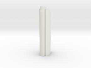KIGHT LEFT in White Natural Versatile Plastic