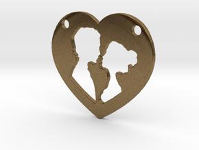 Love in Natural Bronze
