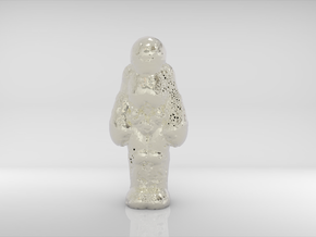 S.A.D. Astronaut _ The Loneliest Man On The MOON in Polished Nickel Steel