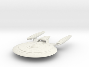 Moon Class VI HvyCruiser in White Natural Versatile Plastic