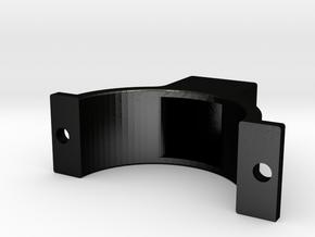 LSR Ring [Front Top] in Matte Black Steel