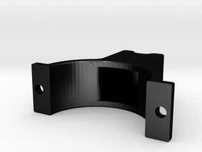 LSR Ring [Rear Top] in Matte Black Steel