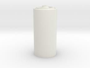 Saber Plug E2 in White Strong & Flexible