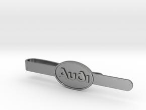 Luxury Audi Tie Clip - Classic in Natural Silver