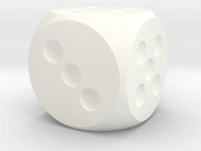 D-6 Standard in White Processed Versatile Plastic