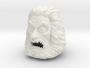 Zardoz Head in White Natural Versatile Plastic