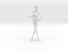 1/9 Elegant lady 009 in White Strong & Flexible