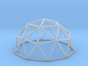 Geo Dome in Smooth Fine Detail Plastic