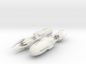 Vorlon Destroyer Set in White Strong & Flexible